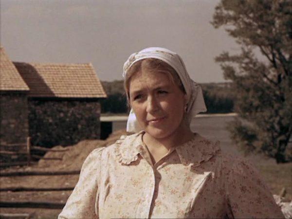 Актриса на съемках очередного фильма