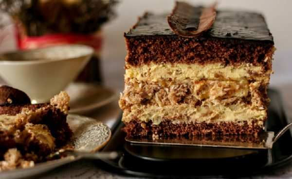 """Шоколадный торт """"Паве"""""""