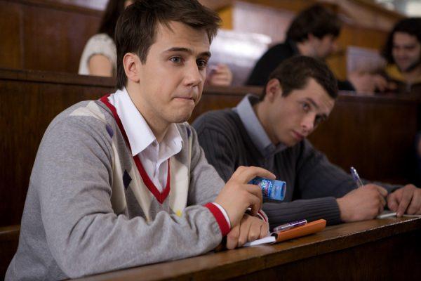 Иван Жидков на съемках очередной картины