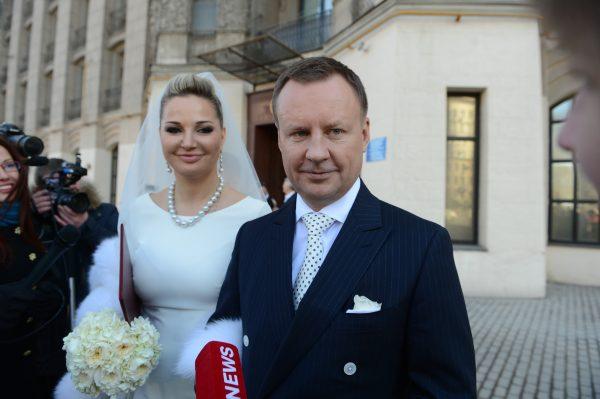 Свадебное фото Марии Максаковой и