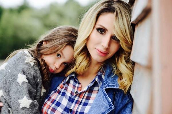 Светлана со своей любимой дочерью