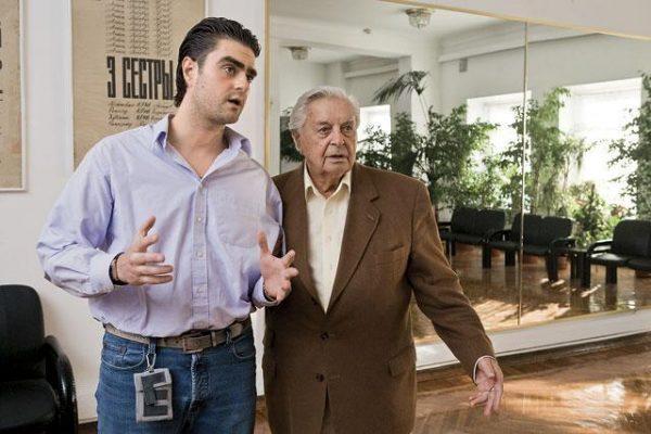 Юрий Любимов с сыном