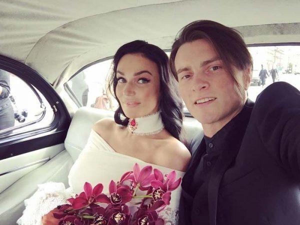 Алексей Косинус и Алена Водонаева поженились