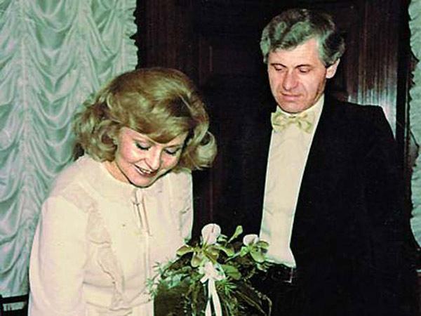 Ангелина Вовк со вторым мужем