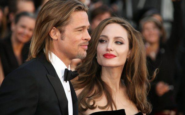 Анджелина Джоли и Брэд Питт до развода