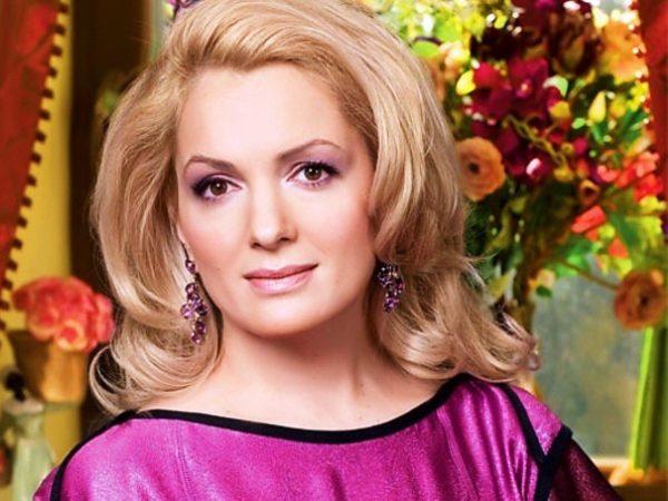 Жена Ильи Древнова, актриса Мария Порошина