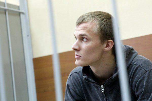 Корней Макаров в суде