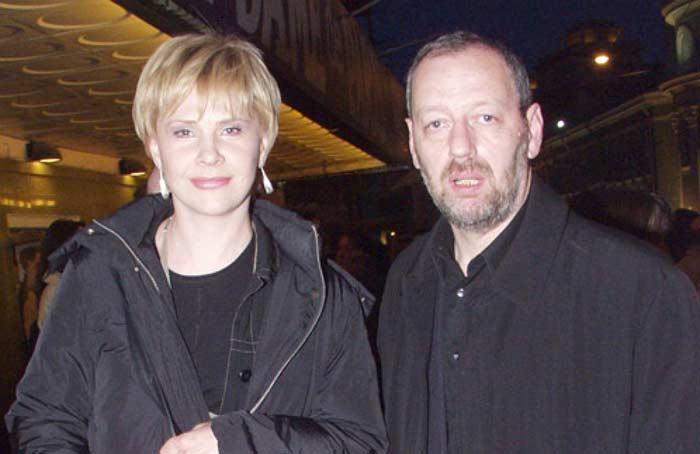Татьяна Догилева с бывшим мужем Михаилом Мишиным