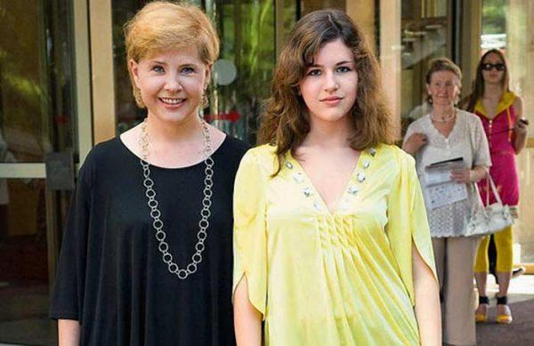 Актриса с дочерью Екатериной