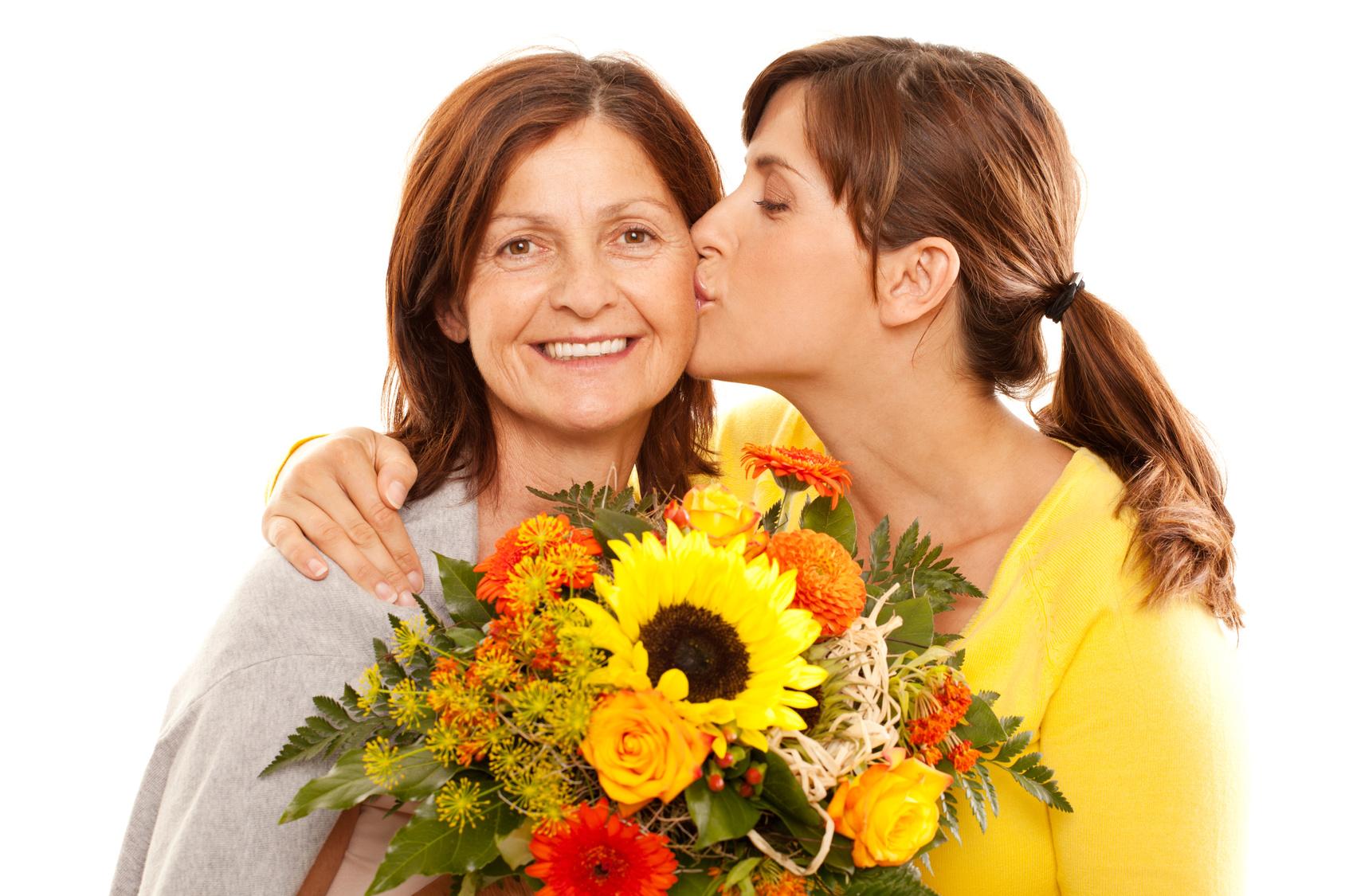 Цветы самый лучший подарок для женщины в любое время года