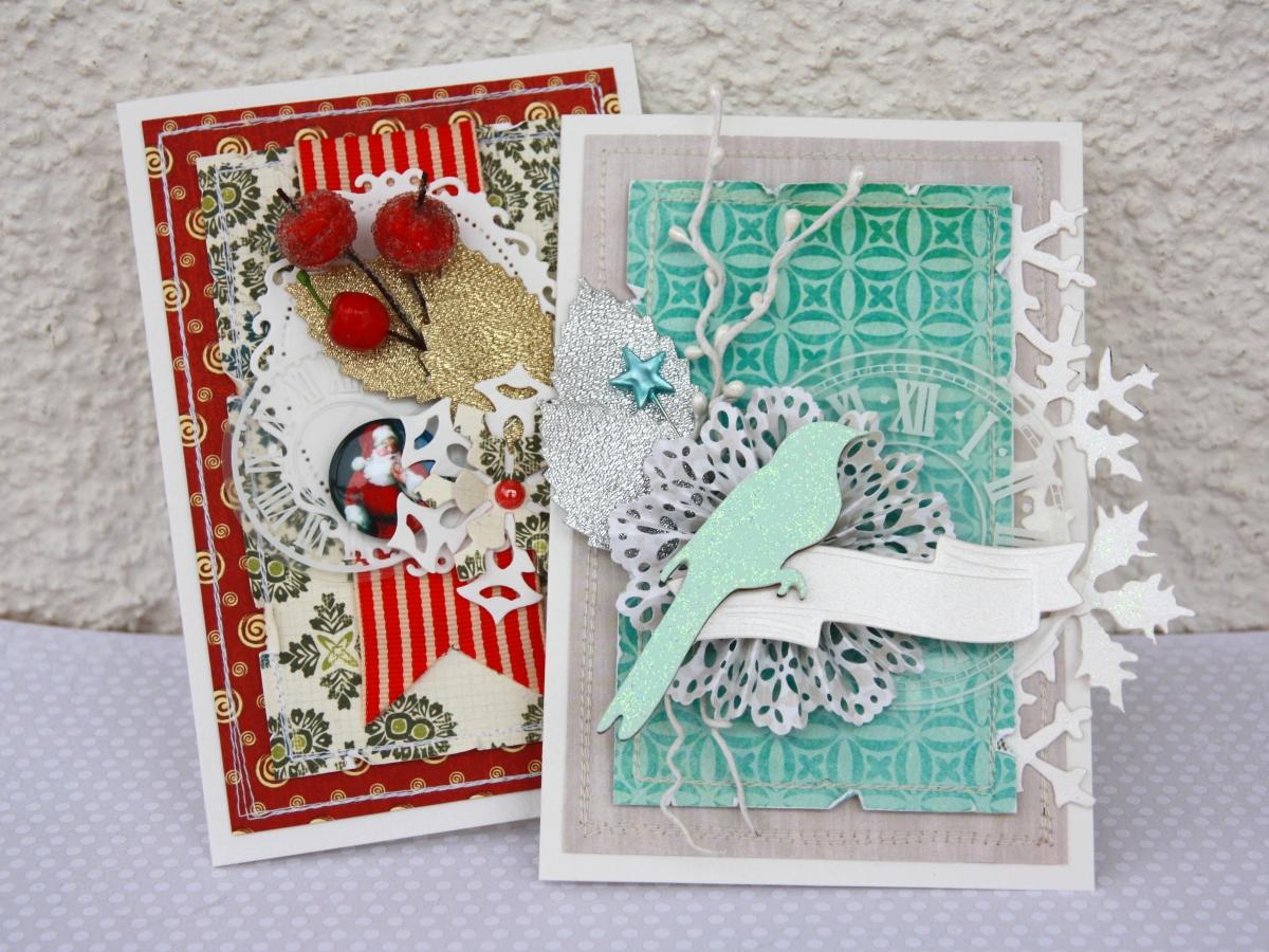 Подарки на новый год с использованием техники рукоделия - скрапбукинг