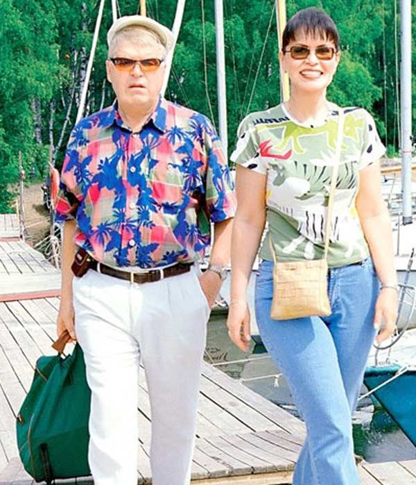 Кокшенов с первой женой Аллой