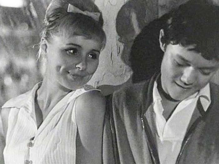 """Кадры из фильма """"Нежность"""" 1966г."""