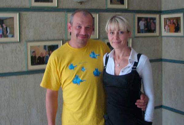 Дмитрий Марьянов и Ольга Аносова