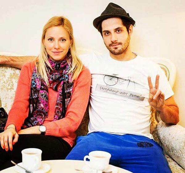Марк Богатырев со своей девушкой