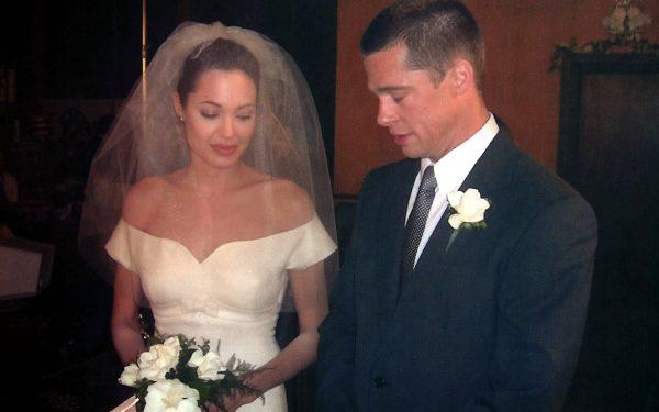 Фото со свадьбы Питта и Джоли