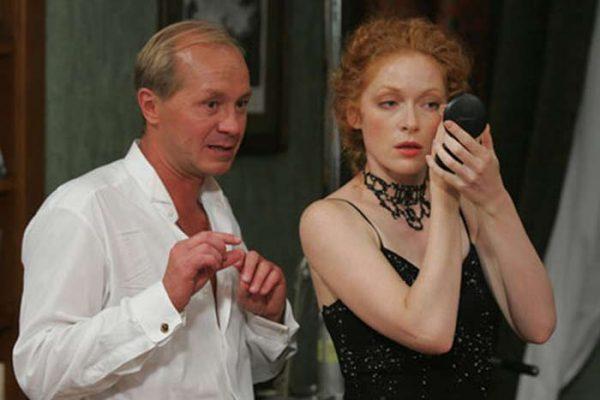 Панин и Рогожкина на сцене театра