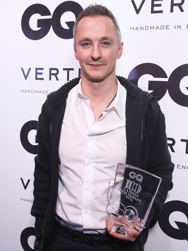 На вручении премии GQ