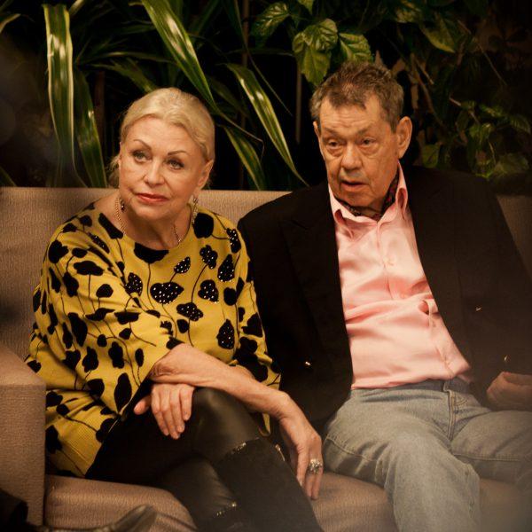 С женой Людмилой Поргиной