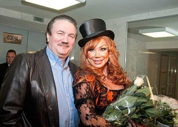 Маша Распутина со вторым мужем