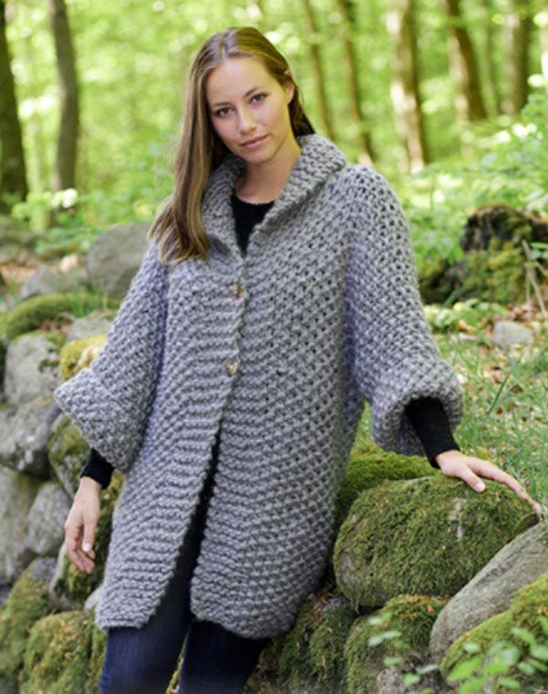 Пальто с рукавом три четверти