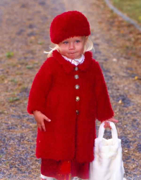 Стильное пальто для ной модницы
