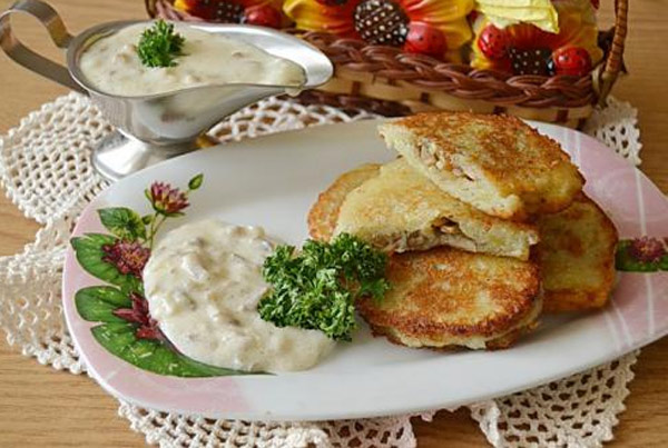 Рецепт драников из картошки с пошаговыми фото