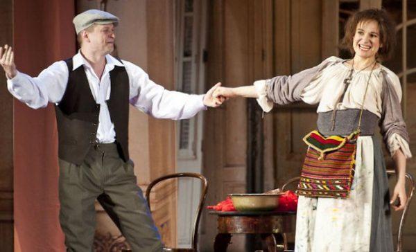 Людмила Артемьева на сцене театра