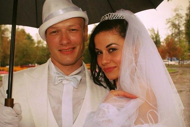 Никита со второй супругой Ладой