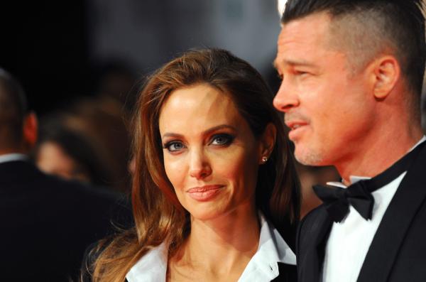 Фото:Анджелина Джоли и Брэд Питт
