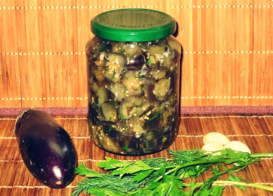 Салат из баклажан на зиму как грибы