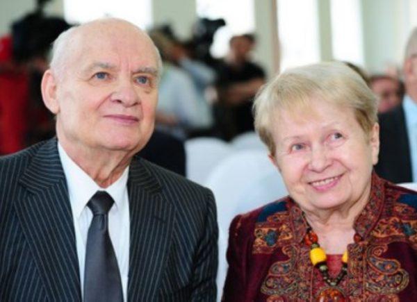 Пахмутова с мужем Николаем Добронравовым