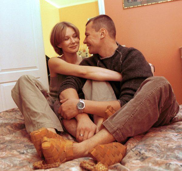 Влад Галкин с женой