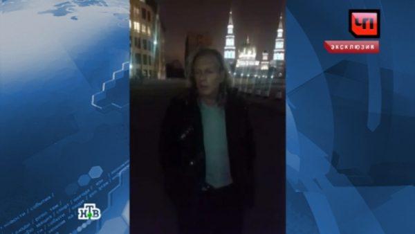 Задержание пьяного Криса Кельми