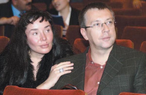 Марьяна со вторым мужем Андреем Вавиловым