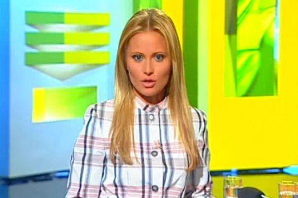 Дана Борисова известная телеведущая