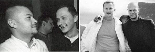 Степан Михалков и Федор Бондарчук в молодости