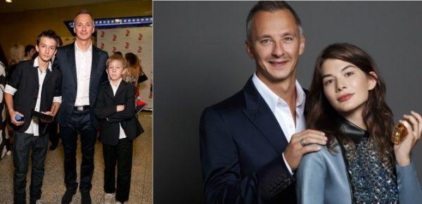 Степан Михалков с детьми