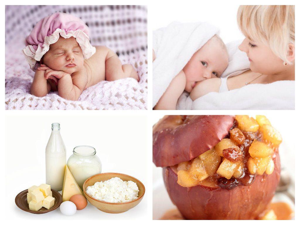 Во время кормления грудью следует есть больше молочных продуктов