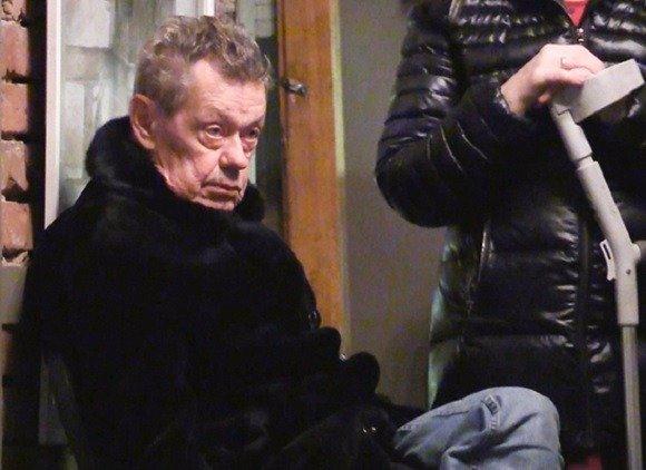 Николай Караченцов после выписки из больницы