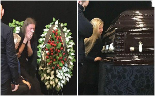 Фото из похорон Дмитрия Марьянова