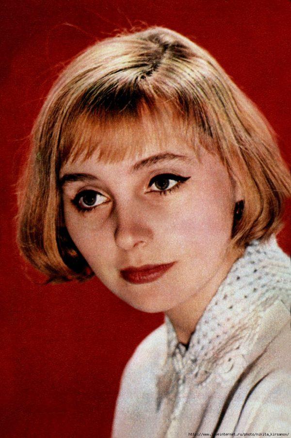 Мария Стерникова в студенческие годы