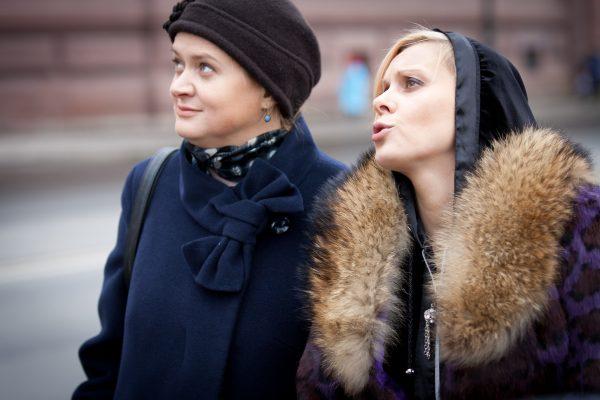 """С Анной Михалковой на съемках фильма """"Кококо"""""""