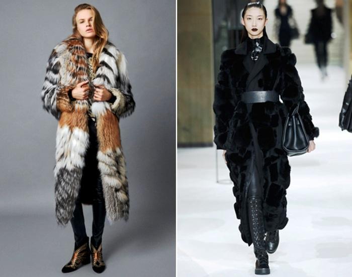 Модная тенденция в шубах