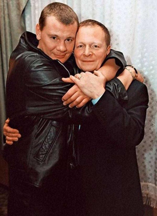 Влад Галкин с отчимом