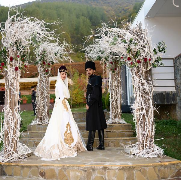 Свадьба Сати Казановой в Осетии: первые фото из торжества