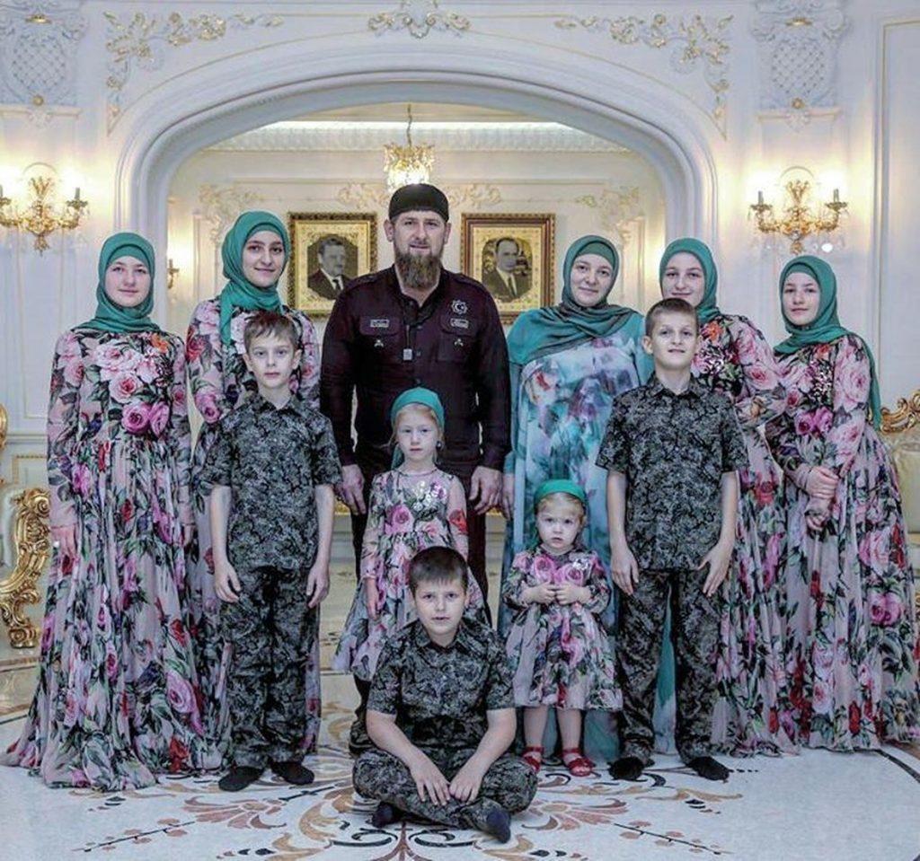 Сколько детей у Рамзана Кадырова