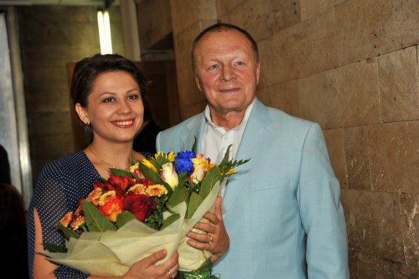 Инна Разумихина с мужем Борисом Галкиным