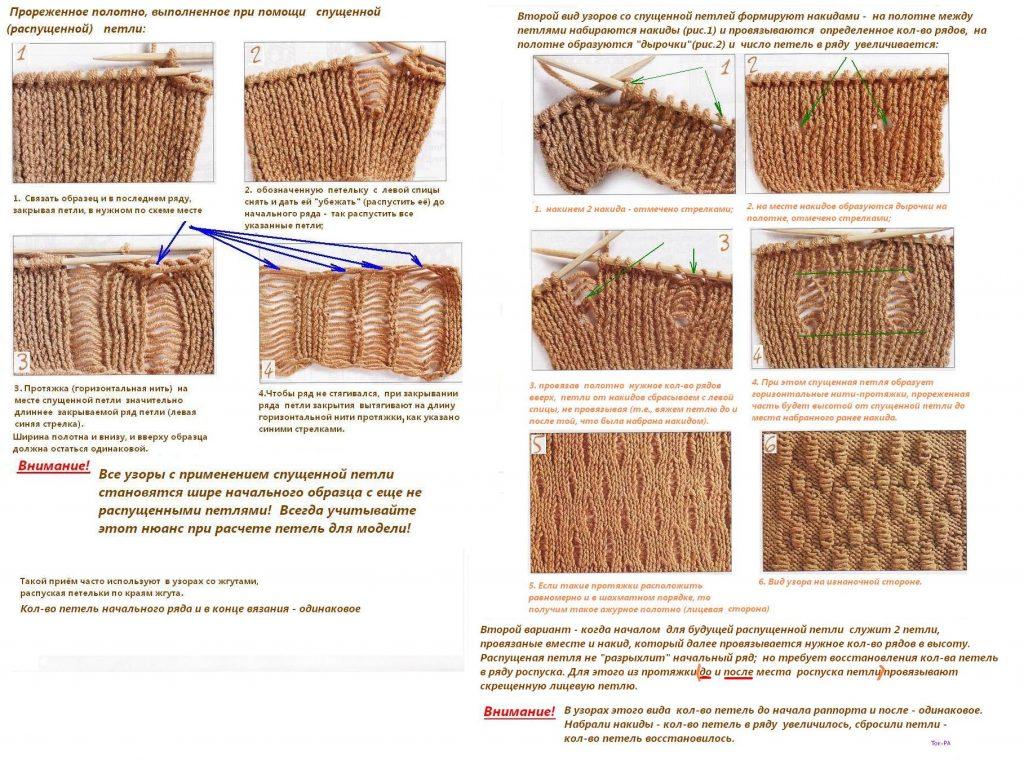 Оригинальный узор для вязанья
