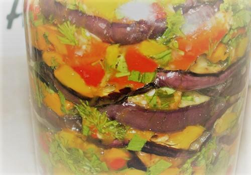 Салат из баклажан на зиму